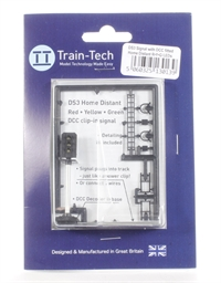 Train Tech DS3 One Touch DCC Signal Home Distant (R/Y/G)