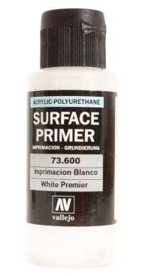 Vallejo VAL73600 Polyurethane - Primer White 60ml
