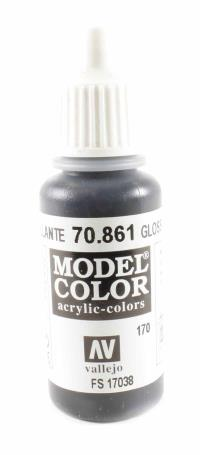 Vallejo VAL861 Model Color - Gloss Black
