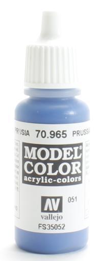 Vallejo VAL965 Model Color - Prussian Blue
