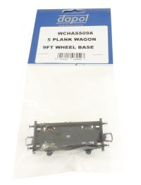 Dapol WCHASS09A 9ft wheelbase chassis for 5-plank wagon