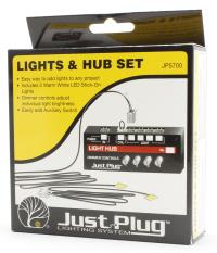Woodland Scenics WJP5700 Lights and Hub set - Just Plug lighting system