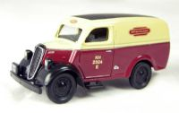 "Pocketbond ""Classix"" EM76607 Ford E83W 10 cwt van in ""British Railways"" maroon & cream livery"