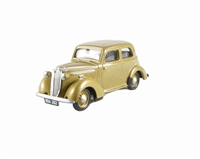 "Pocketbond ""Classix"" EM76894 Vauxhall VX10 (pre-war version with vertical grille) in Metallic Gold"