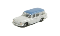 Oxford Diecast NSS005 Humber Super Snipe in white & blue