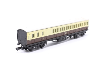 0614-PO14 57' Suburban Brake End Coach GWR - Pre-owned - Marks on roof, replacement box