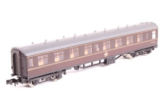 0681-PO04 BR Mk1 Corridor 2nd in Maroon - Pre-owned - Like new- imperfect box £19