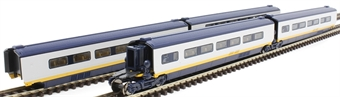 10-1296 Class 373 Eurostar - pack of four additional coaches - classic livery