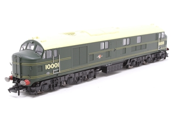 10001HAP-PO03 10001 BR Brunswick green with orange, black & orange lining. Aug 1956 - Oct 1957. - Pre-owned - DCC fitted £99