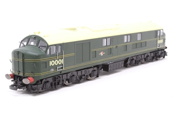 10001HAP-PO04 10001 BR Brunswick green with orange, black & orange lining. Aug 1956 - Oct 1957. - Pre-owned - Like new £85