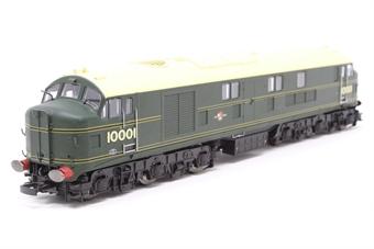 10001HAP-PO04 10001 BR Brunswick green with orange, black & orange lining. Aug 1956 - Oct 1957. - Pre-owned - Like new