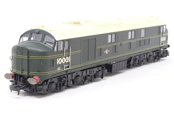 10001HAP-PO06 10001 BR Brunswick green with orange, black & orange lining. Aug 1956 - Oct 1957. - Pre-owned - DCC fitted - missing coupling hook