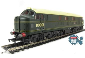 10001HAP 10001 BR Brunswick green with orange, black & orange lining. Aug 1956 - Oct 1957. £94