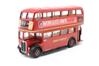 """10122-PO11 AEC SRT (Closed) - """"LT Red - Woman's Own"""" - Pre-owned - Like new"""