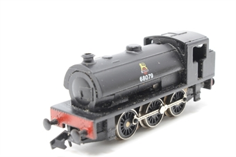 1016Farish-PO08 Class J94 0-6-0ST 68079 in BR Black - Pre-owned - wobbly runner - imperfect box