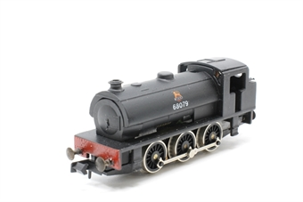 1016Farish-PO09 Class J94 0-6-0ST 68079 in BR Black - Pre-owned - Like new- Imperfect box