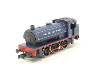 1017Farish-PO02 Class J94 Austerity 0-6-0ST 61 in National Coal Board blue - Pre-owned - imperfect box