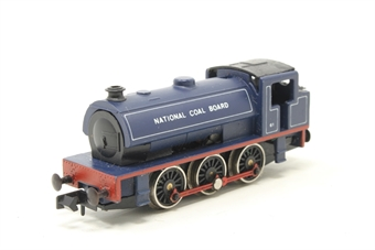1017Farish-PO04 Class J94 Austerity 0-6-0ST 61 in National Coal Board blue - Pre-owned - sold as seen, non runner, imperfect box