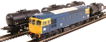 1099 Fawley Oil Refinery trainpack with Class 33 D6584 in BR blue with four B tank wagons in ESSO livery