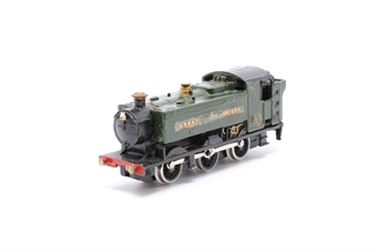 1104Farish-PO08 Class 94xx 0-6-0 Pannier 3401 in GWR green - Pre-owned - sold as seen - noisy/wobbly runner - renumbered - worn decals - replacement box