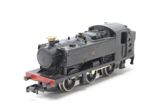 1105farish-PO07 Class 94xx 0-6-0 Pannier  in BR Black - Pre-owned - wobbly runner - numbers removed - replacement box