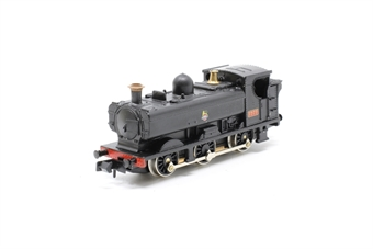 1115Farish-PO05 Class 57xx 0-6-0 7777 in BR Black - Pre-owned - sold as seen - poor/wobbly runner