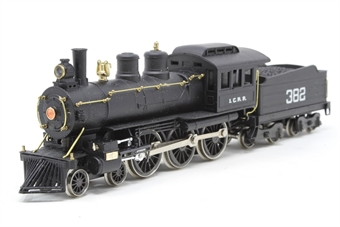1204RIV-PO 'Casey Jones' 4-6-0 #382 of the Illinois Central Railroad - Pre-owned - imperfect box, missing inner packaging