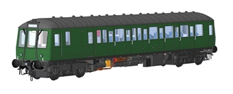 1230 Class 122 single car DMU in BR blue with plated over headcode panel - (Price is estimated - we will notify you if price rises and offer option to cancel)