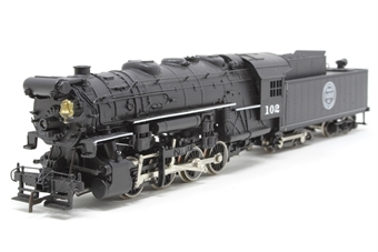 1271RIV-PO USRA 0-8-0 #102 of the Indiana Harbour Belt Railroad - Pre-owned - Like new - imperfect box