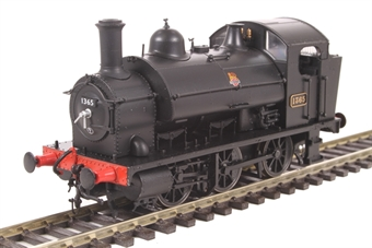 1303 Class 1361 0-6-0ST 1365 in BR black with early emblem