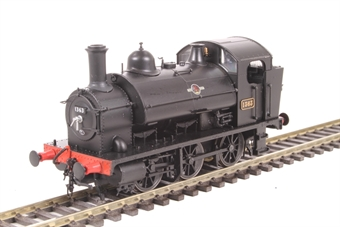 1304 Class 1361 0-6-0ST 1363 in BR black with late crest