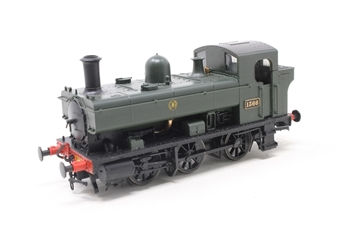 1320-PO Class 1366 0-6-0PT 1366 in GWR green with shirtbutton - Pre-owned - DCC fitted