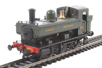 1321 Class 1366 0-6-0PT 1369 in Great Western green - as preserved