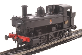 1323 Class 1366 0-6-0PT 1367 in BR black with early emblem