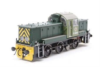 1400-PO03 Class 14 D9500 in BR Green - as preserved - Pre-owned - DCC fitted, loose steps, missing horn, slightly hesitant runner