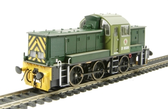 1400 Class 14 D9500 in BR Green - as preserved