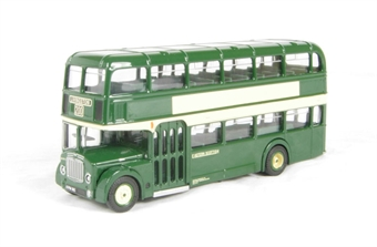 "14014 Bristol/ECW FLF Lodekka d/deck bus ""Eastern Scottish"" £26"