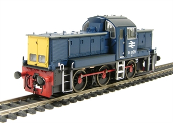 1401 Class 14 14029 in BR Blue - as preserved