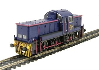 1402 Class 14 No.31 in NCB National Coal Board blue