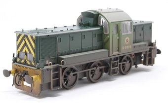 1403-PO05 Class 14 D9535 in BR green - weathered - Pre-owned - Like new