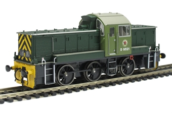 1404 Class 14 D9521 in BR green