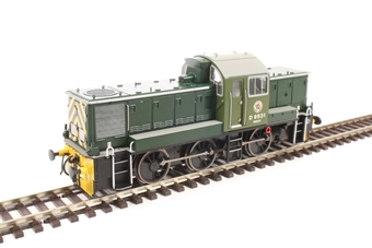 1409 Class 14 D9531 in BR green - as preserved