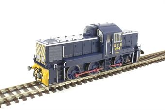 1411 Class 14 National Coal Board Ashington No.4 in NCB blue