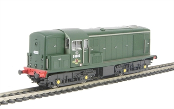 1500 Class 15 D8200 in BR plain green livery, as delivered into service.