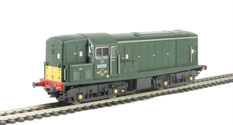 1503 Class 15 D8233 in BR Green with small yellow panels as preserved. Limited edition of 1000