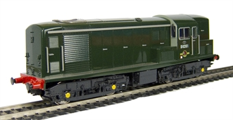 1504 Class 15 D8201 in BR plain green livery (glossy finish)