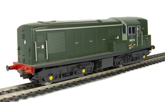 1507 Class 15 D8215 in BR green livery.