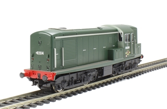 1509 Class 15 D8204 in BR green with numbers on front & rear