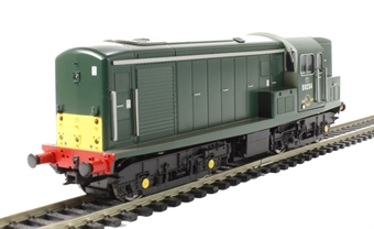 1511 Class 15 D8234 in green with small yellow panels - gloss finish