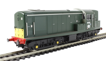 1512 Class 15 D8242 in BR green with small yellow panels & seriffed numbers & double arrows